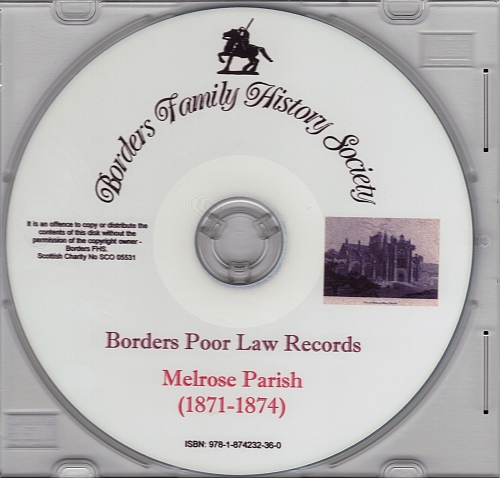 Melrose Parish (1871-1874) CD Image