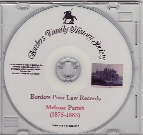 Melrose Parish (1875-1883) CD Image