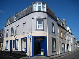52 Overhaugh St, Galashiels, Scotland, where our family history archive and library of books, family tree charts, monumental / gravestone inscriptions, CDs, microfilms, and microfiche is located.